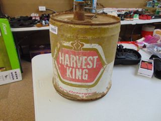 Harvest king 5 Gallon Oil Can