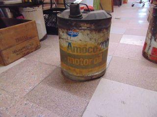 Amoco 200 oil Can