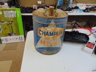 Champlan 5 Gallon Can