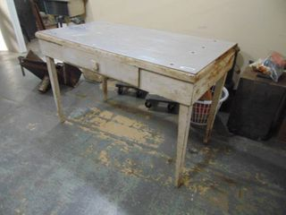 Primitive Table with Drawer