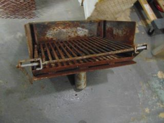 Campsite Charcoal Grill