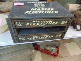 WeatherHead Fleetliner Hardware Cabinet