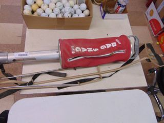 Vintage Bag Shag   Golf Ball Shagger and Bag Carrier