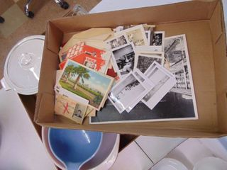 Miscellaneous Vintage Photographs and Postcards   Small lot