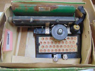 American Flyer - Toy Typewriter