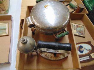 Waffle maker and Diamond Gas Iron