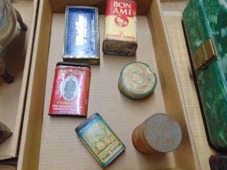 Miscellaneous primitive Tins