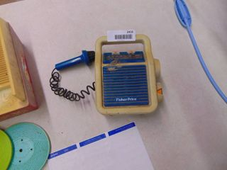 Fisher Price Battery operated Radio   Untested