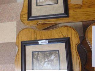 2 Framed landscape Prints