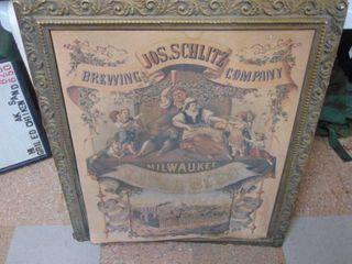 1971 Schlitz Advertisement Poster Approx 24 x 30 IJIJ