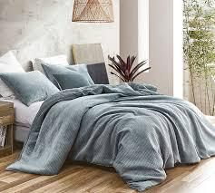 Embossy   Coma Inducer Oversized Duvet Cover   Cinder Gray  Retail 146 49