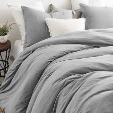 natural loft ultimate comforter alloy grey