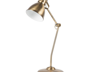 Euro Style Collection lyon 18  Modern Table lamp Brass