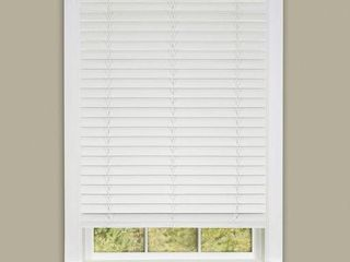 Achim Cordless GII Madera Falsa 2  Faux Wood Plantation Blind