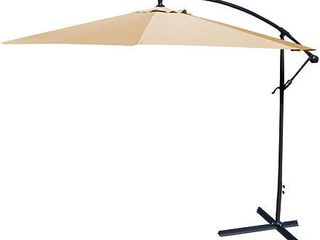 Jordan Manufacturing Steel 10 foot Offset Umbrella  Retail 107 99