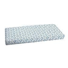 Ruddock Blue Diamond Tile Corded Indoor  Outdoor Cushion by Havenside Home  Retail 125 49