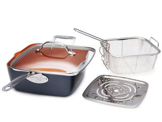 Gotham Steel 9 5 Deep Square Pan Set