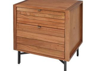 Hopper Studio Portland Blonde Nightstand  Retail 309 49
