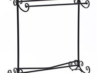 Ikee Design Metal Wire Simple Scrollwork Towel Rack