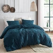 Textured Waves Comforter   Supersoft Nightfall Navy  Retail 95 99