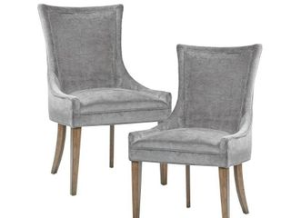 Madison Park Signature Ultra Dining Side Chair  Set of 2  Retail 376 99