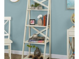 Simple living 4 Tiered X Frame Farmhouse Shelf  Retail 84 99