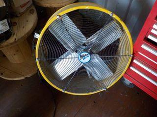 Maxx-air fan on wheels...