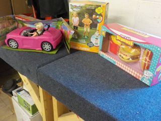 Barbie Car and Doll, Kidoozie Pogo ...