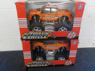 Set of 2 All Terrain Vehicles...