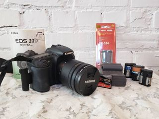 Canon EOS 20D with Tamron 28-200mm Lens Collection