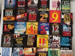 Collection of James Patterson CD Audiobooks - Lot of 30 * Collection 2