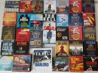 Collection of CD Audiobooks - Lot of 32 * Collection 4