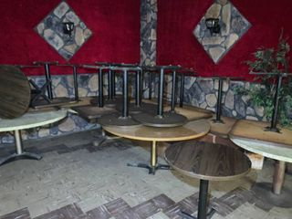 Variety Lot of approx 20 Square & Round Tables