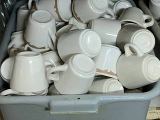 Full Tote of Buffalo China Coffee Cup
