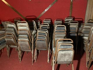 Lot of 25 Banquet Stackable Chairs