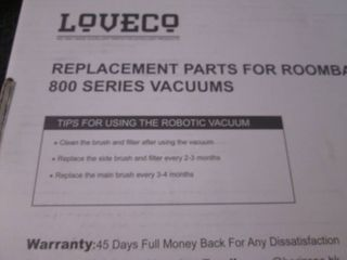 Roomba Replacement Parts...
