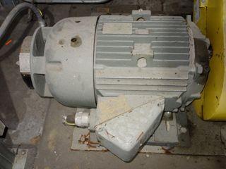GE 50HP AC MOTOR 460V-AC 2675 RPM 326TSFCZ