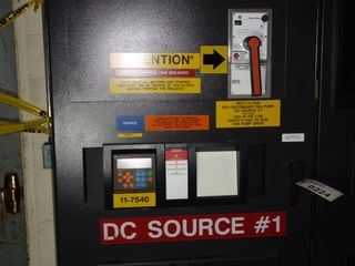 GE INNOVATION LV AC DRIVE 621 Volt 1065Kw & GE 2500A Breaker 11-7540