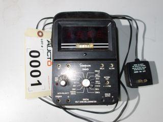 SIMPSON 360-2 VOLT-OHMM MILLIAMMETER