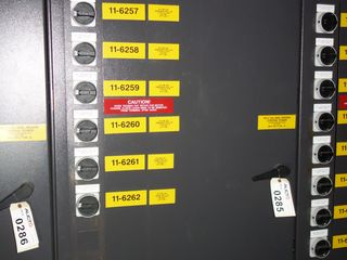 GE INNOVATION SERIES 3VVRJ607CI036 LV AC DRIVE CABINET