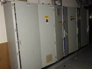 4X SECTIONS OF VALMET CONTROL CABINETS