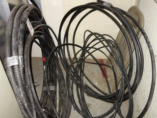 LOT OF ASSORTED COPPER CABLE WIRE