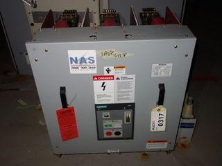 SIEMENS 2000Amp 5-GMI-250-2000-58 4.76KV-AC CIRCUIT BREAKER