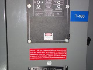 GE INDUSTRIAL AA/FA 2500 / 3333KVA DRY TRANSFORMER