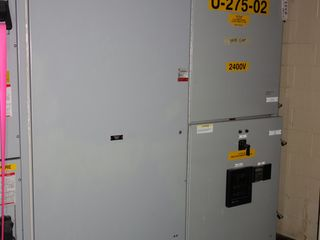 2X SECTIONS GE POWER VAC SWITCHGEAR PANELS