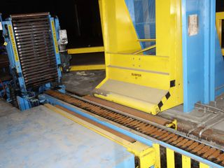 VOITH SULZER 62 63 SLAT CONVEYOR ASSEMBLY LINE