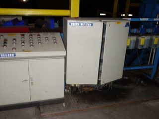 VOITH SULZER CONVEYOR CONTROL PANEL W/ SIEMENS IC200
