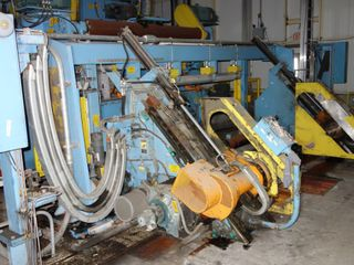 VALMET UNWINDER WINDING SECTION