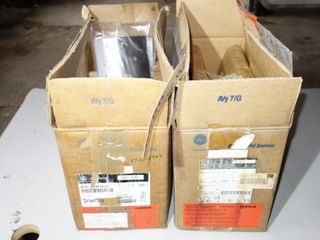 LOT OF 2 GENERAL ELECTRIC AV-300I 5HP INVERTER DRIVES, 6KAVI43005Y1D1, 6KAVI43005N1B2