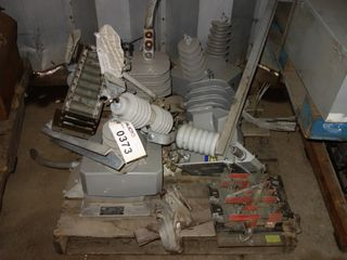 1 PALLET OF ASSORTED ABB VOLTAGE TRANSFORMERS